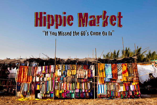 FOGG Odyssey: Anjuna Hippie Market in Goa, India