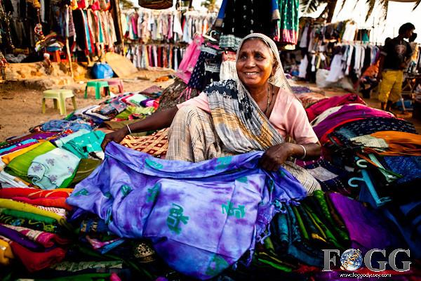 FOGG Odyssey: Anjuna Hippie Market in Goa, India