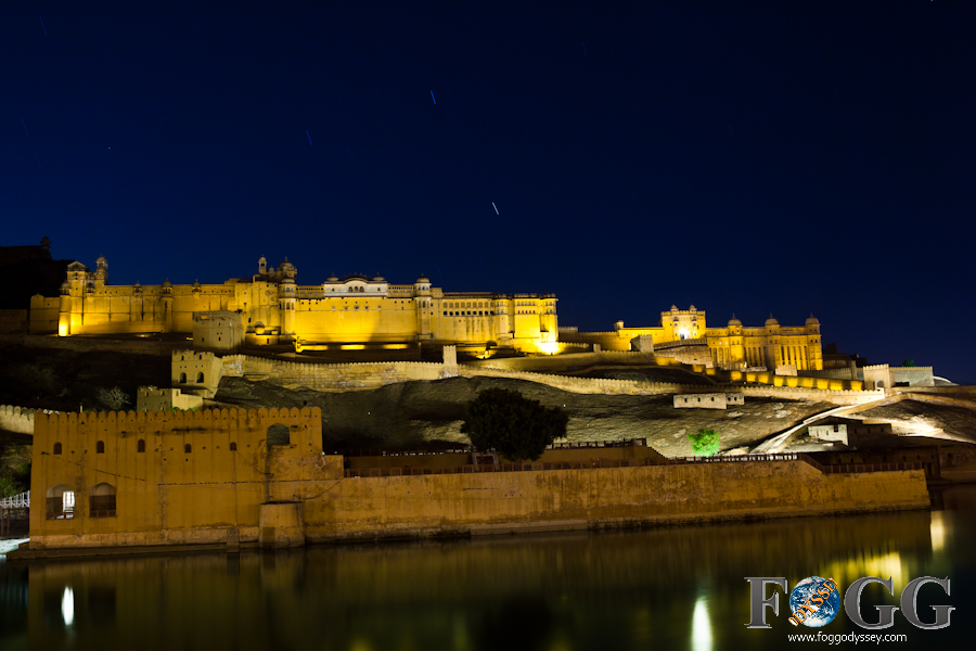 Jaipur, India sites and temples: Amber Fort