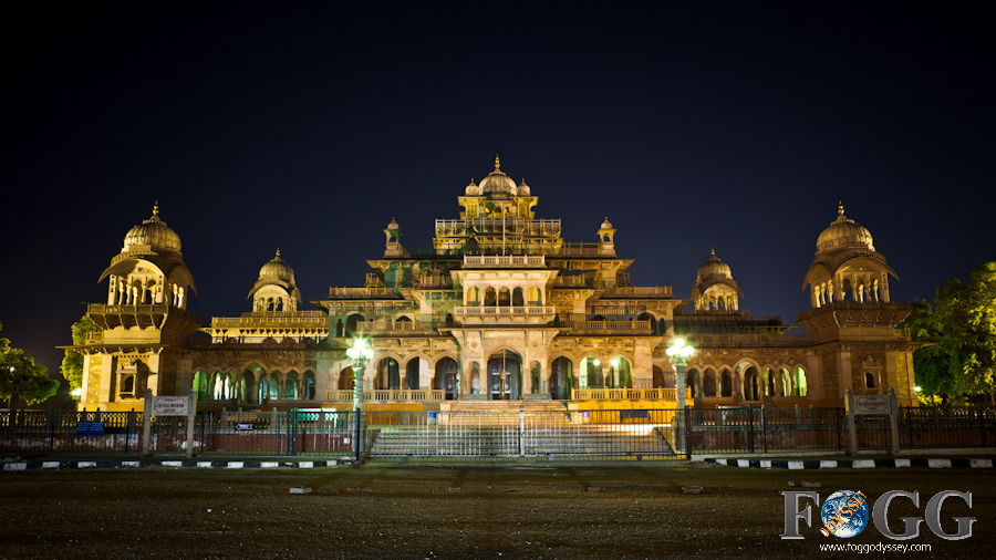Jaipur, India sites and temples: Albert Hall