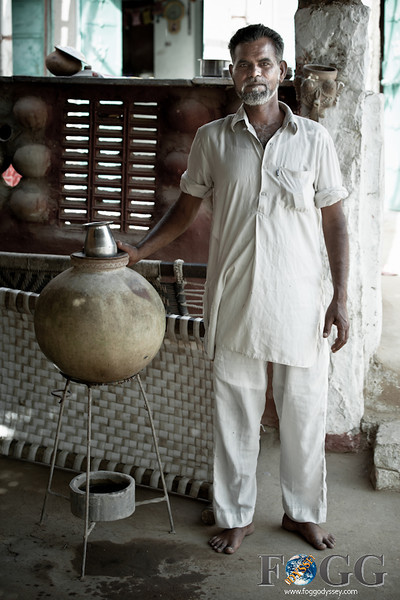 Making Pottery in Rajasthan