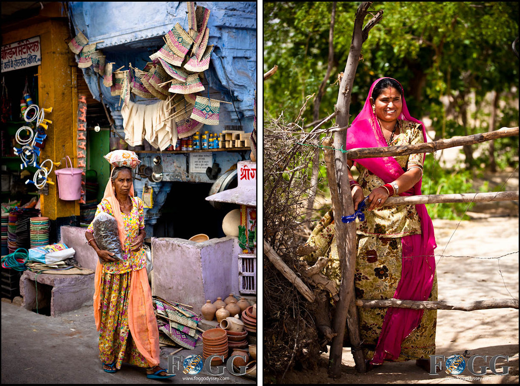 women wearing indian saris