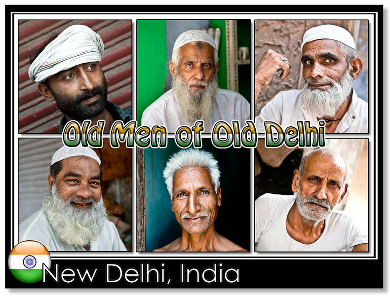 Old Delhi People in New Delhi, India