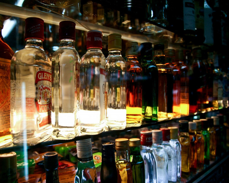 The best liquor and booze can be found in Little India
