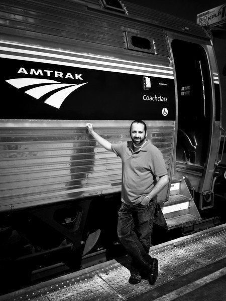 Amtrak Train USA St. Louis Missouri