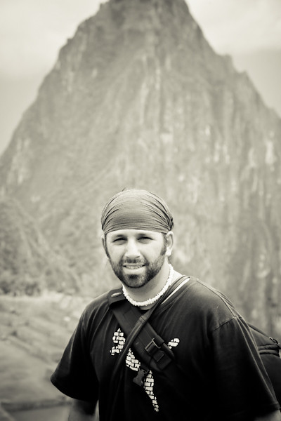 Troy Floyd in Machu Picchu: FOGGodyssey.com