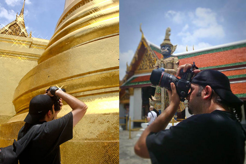 Troy Floyd photographing in Bangkok: FOGGodyssey.com